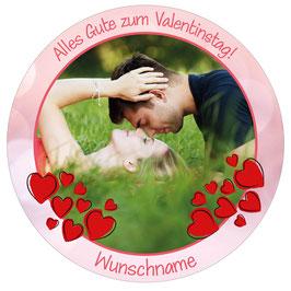Ø 10/14/20cm Motiv Valentinstag Herz