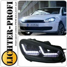 OSRAM LEDriving® Xenarc® VOLL LED Tagfahrlicht Scheinwerfer schwarz  für VW Golf 6 VI Baujahr 2008 - 2013