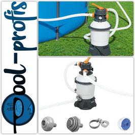 BESTWAY Flowclear Profi Sandfilteranlage Pool Filterpumpe 3028 l/h