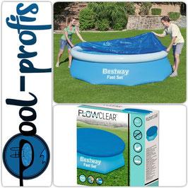 BESTWAY Schutz Abdeckung für Fast Set Pool Swimmingpool 244 cm