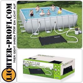 BESTWAY Flowclear Pool Solarmatte Solarheizung Poolheizung 171x110cm