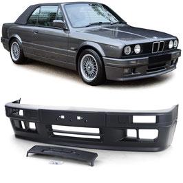 Frontstoßstange Sport Optik Typ 2 für Nebelscheinwerfer für BMW 3er E30 85-94