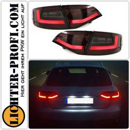 Led Rückleuchten rot smoke dynamisch für Audi A4 B8 8K Avant Baujahr 2008 - 2011