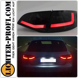 Led Rückleuchten smoke ohne Dynamik für Audi A4 B8 8K Avant Baujahr 2008 - 2011