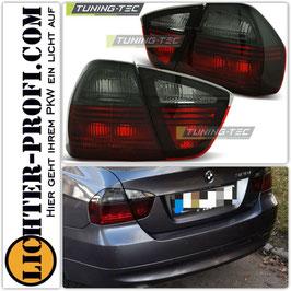 Rückleuchten rot / smoke für BMW E90 Limo Baujahr 2005 - 2008