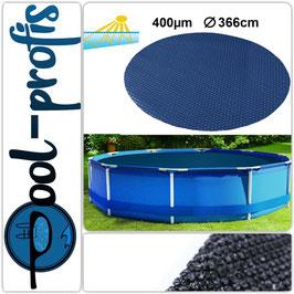 400µm Pool Solarplane Poolheizung Solarfolie Rund 366 cm