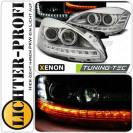 Xenon D1S Led Scheinwerfer chrom für Mercedes S-Kl. W221 2005-2009