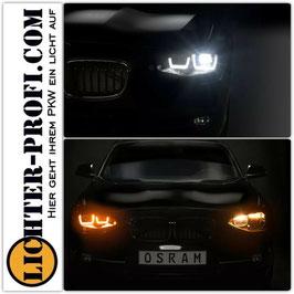 OSRAM LEDriving® VOLL LED Tagfahrlicht Scheinwerfer schwarz für BMW 1er F20 F21 Baujahr 2011 - 2015