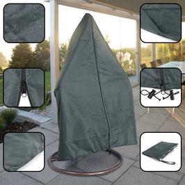 Premium Schutzabdeckung Schutzhülle Cover für Hängesessel Dunkelgrau 190x100cm