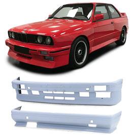 Front und Heckstoßstange Sport Ausführung Bodykit Set für BMW 3er M3 E30 86-91