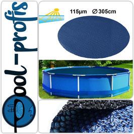 115µm Pool Solarplane Poolheizung Solarfolie Rund 305 cm