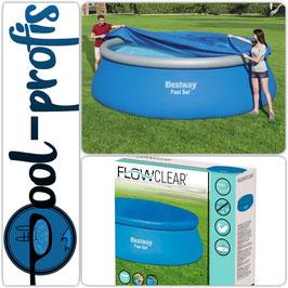 BESTWAY Schutz Abdeckung für Fast Set Pool Swimmingpool 457cm
