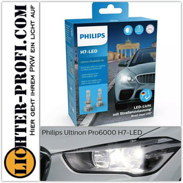 H7 12V 20W Philips Ultinon Pro6000 5800K Led Birnen Leuchtmittel 2 Stück
