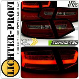 Led Rückleuchten rot smoke dynamisch für Audi A6 4F Limousine Baujahr 2008 - 2011