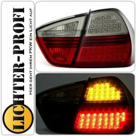 Led Rückleuchten rot / smoke für BMW E90 Limo Baujahr 2005 - 2008