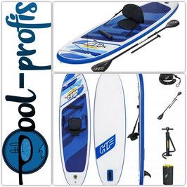 BESTWAY Stand Up Paddle SUP Board Oceana mit Kajak Sitz Paddel 305 x 84 x 12 cm