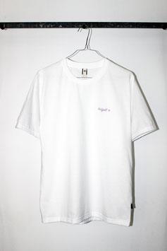 hdgdl t-shirt, unisex, weiß/flieder