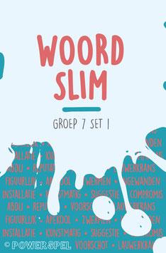 Woordslim groep 7 set 1