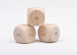 Dobbelsteen Spelling -mp, -st, -ts, -rt, -nt, -ns