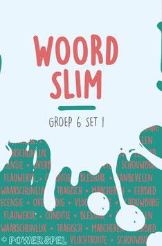 Woordslim groep 6 set 1