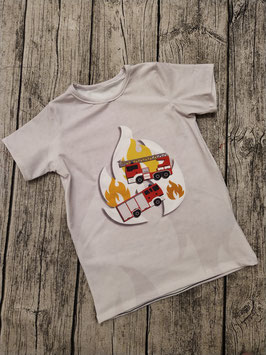 kurzarm Shirt Feuerwehr