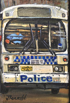 NSW Police Bus