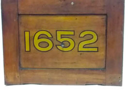 Bulkhead panel from Sydney P Class tramcar