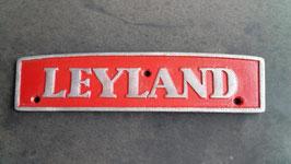 Leyland radiator badge.