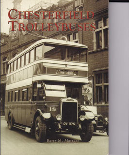 Chesterfield trolleybuses  by Barry M Marsden