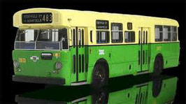OZBUS 9701 Sydney Leyland Leopard Mark I in green