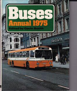 Buses  Annual 1975 ed. Gavin Booth