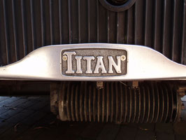 LEYLAND 'TITAN' radiator badge - pre WWII