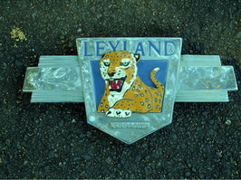Leyland Leopard name badge. Genuine original from PTC bus