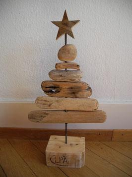 --TAHTA-- Weihnachtsbaum aus Treibholzbretter
