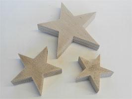 --SIRIUS-- Set aus 3 Sternen