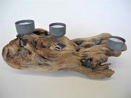 --TOSKANA-- Teelichthalter aus Treibholz