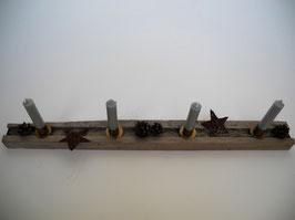 --REYKJAVIK--Adventsgesteck aus Treibholz