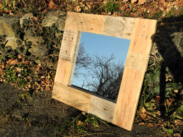 --SAHARA-- Spiegel aus Palettenholz