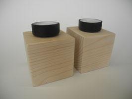 --SEATTLE-- Teelichthalter aus Kieferholz