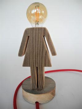 --BONNIE-- Lampe aus Altholz
