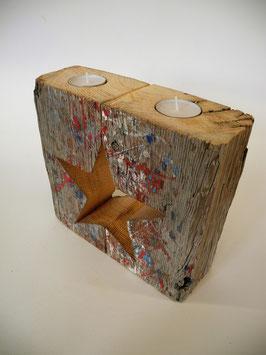 --KLEE-- Weihnachtlicher Teelichthalter