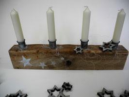 --MEDIEVAL II--Kerzenhalter aus Treibholz