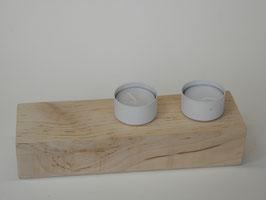 --ABEDUL--Teelichthalter aus Birke