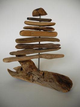 --PUU-- Weihnachtsbaum aus Treibholz