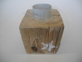 --STÄRNLI II-- Teelichthalter aus Treibholz
