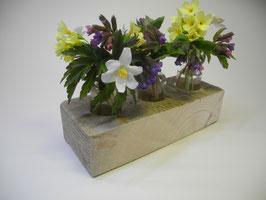 --FLORERO-- Vase aus Treibholz