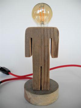 --CLYDE-- Lampe aus Altholz