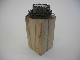 --NID--Teelichthalter aus Treibholz