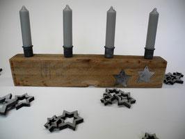 --MEDIEVAL--Kerzenhalter aus Treibholz