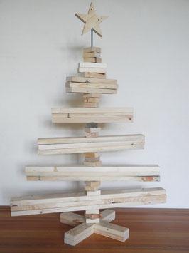 --JäTTE__Grosser Weihnachtsbaum aus Palettenholz